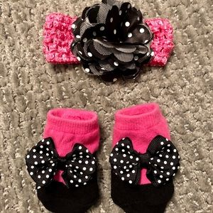 Other - Bow and Matching Sock!